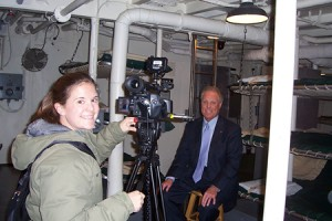 C-SPAN interview aboard USS Slater, for American History TV & Book TV