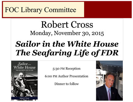 Fort Orange Club, Monday, November 30th