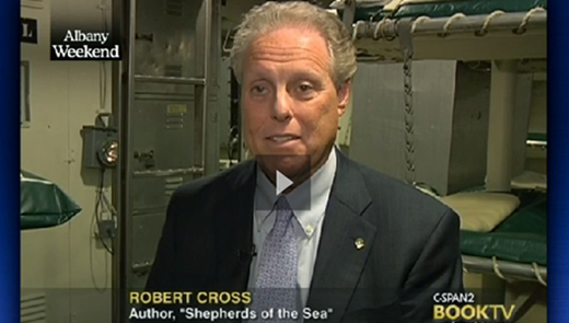 screen shot link to Shepherds of the Sea at cspan.org
