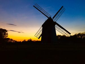 The longest continuously operating windmill in America, Nantucket's Old Mill sits like a sentinel atop Mill Hill.